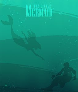 Photo of the cover of Disney's The Little Mermaid movie