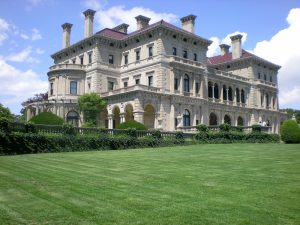 A mansion built during the Gilded Age