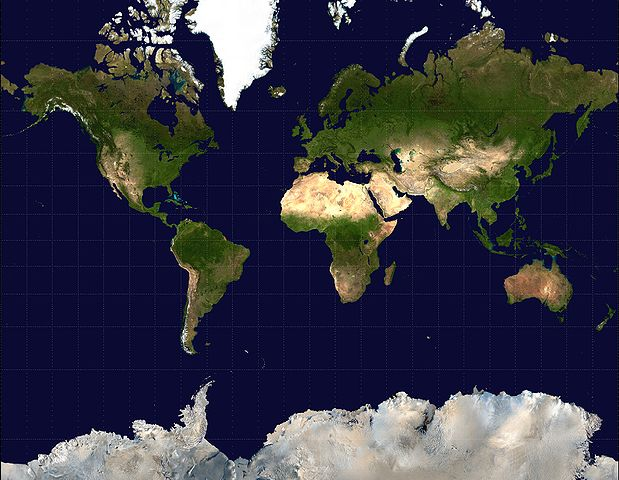 Figure Mercator Projection