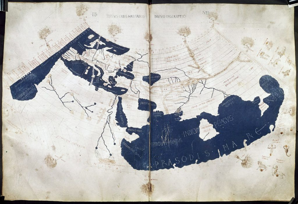 Figure 2.2 A 15th century world map based on Ptolemy's Geography